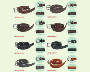 Bonded Leather: Men's Knitting Belts