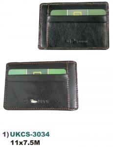 US DUCK UKCS-3034 Split Leather card Holder