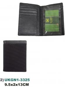 US DUCK UKGN1-3325 GENUINE LEATHER /NYLON Wallets