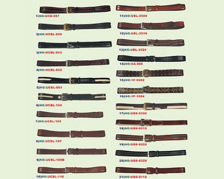 Split Cow Men's Belts