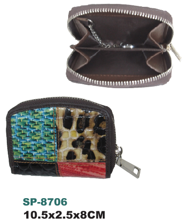 Female wallet SP-8706